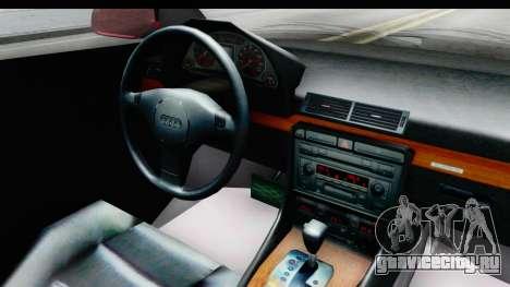 Audi A6 C5 Avant Sommerzeit для GTA San Andreas вид изнутри
