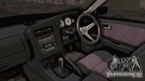 Nissan Stagea WC34 1996 для GTA San Andreas вид изнутри