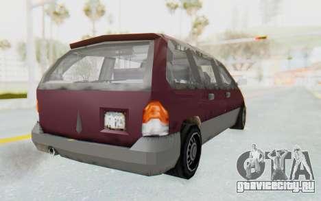 GTA 3 Blista для GTA San Andreas вид слева