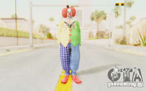 Dead Rising - Adam Macintyre The Clown для GTA San Andreas второй скриншот