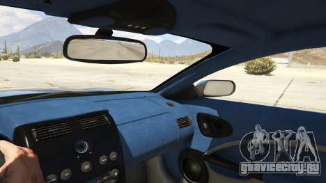 2001 Aston Martin V12 Vanquish для GTA 5 вид справа