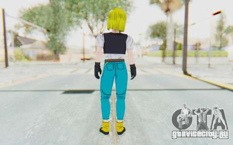 Dragon Ball Xenoverse Android 18 Cell Tournament для GTA San Andreas третий скриншот