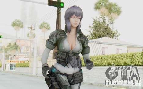 Ghost In The Shell First Assautl Motoko v2 для GTA San Andreas