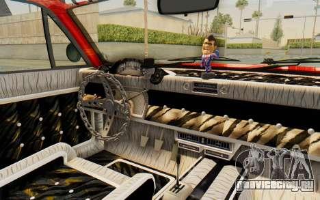 GTA 5 Declasse Voodoo Alternative v2 для GTA San Andreas вид изнутри