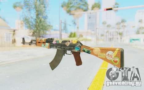 CS:GO - AK-47 Jetset для GTA San Andreas второй скриншот