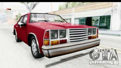 Ford Fairmont from Bully для GTA San Andreas вид справа