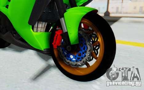 Kawasaki Ninja 250 Abs Streetrace для GTA San Andreas вид сзади