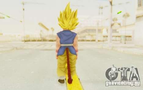 Dragon Ball Xenoverse Goku Kid GT SSJ для GTA San Andreas третий скриншот
