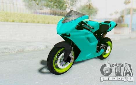 Ducati 1098R Streetrace для GTA San Andreas