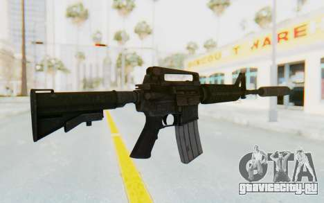 Assault M4A1 Silenced для GTA San Andreas второй скриншот