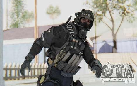 Federation Elite SMG Tactical для GTA San Andreas