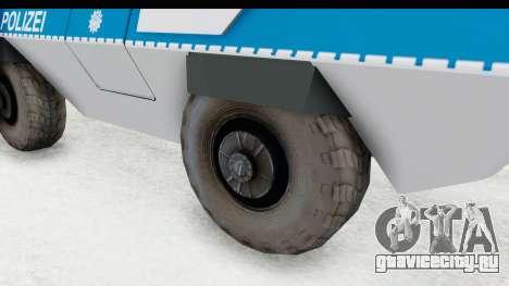 Hermelin TM170 Polizei для GTA San Andreas вид сзади
