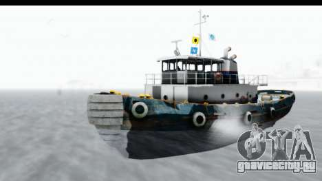 GTA 5 Buckingham Tug Boat v1 для GTA San Andreas вид справа