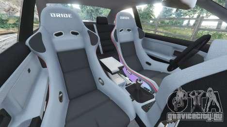 BMW M3 (E36) Street Custom для GTA 5 вид спереди справа