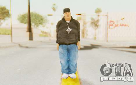 Def Jam Fight For New York - Fat Joe для GTA San Andreas второй скриншот