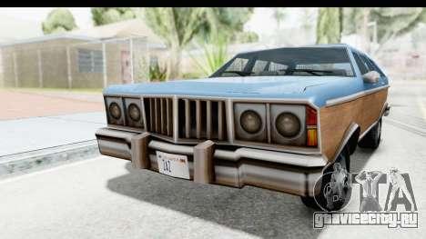 Pontiac Bonneville Safari from Bully для GTA San Andreas вид справа