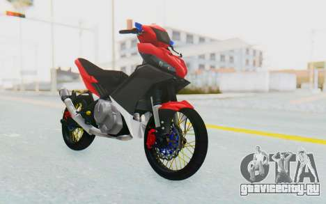 Yamaha Jupiter MX 135 Semi Roadrace для GTA San Andreas