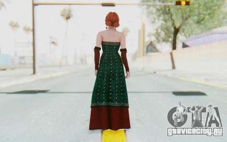 The Witcher 3 - Triss Merigold Dress для GTA San Andreas третий скриншот
