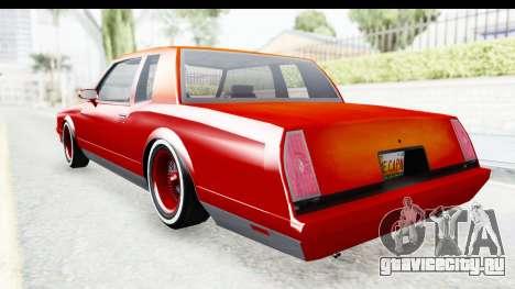 Chevrolet Monte Carlo Breaking Bad для GTA San Andreas вид слева