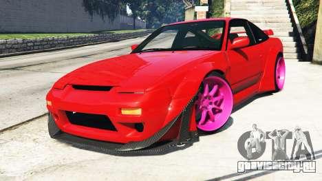 Nissan 180SX Type-X v1.0 для GTA 5