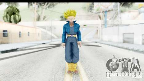 Dragon Ball Xenoverse Future Trunks SSJ1 для GTA San Andreas второй скриншот