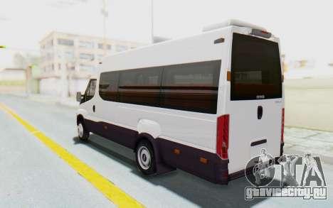 Iveco Daily Minibus 2015 для GTA San Andreas вид слева