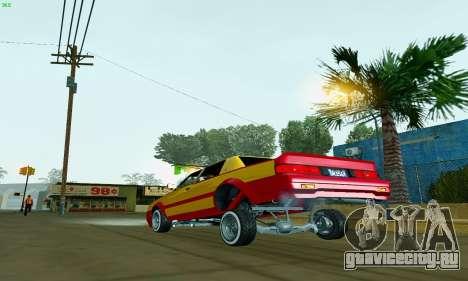 New Tahoma from GTA 5 для GTA San Andreas вид сзади слева