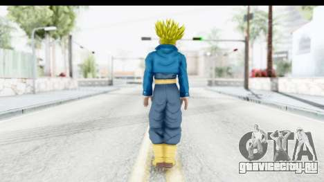 Dragon Ball Xenoverse Future Trunks SSJ1 для GTA San Andreas третий скриншот