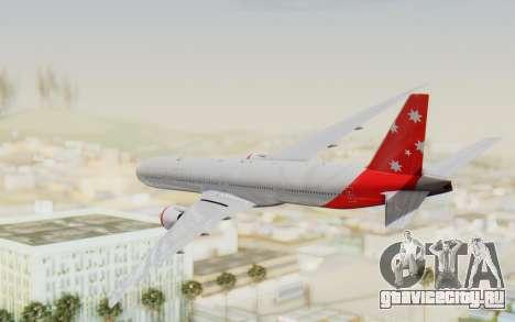 Boeing 777-300ER Virgin Australia v1 для GTA San Andreas вид справа