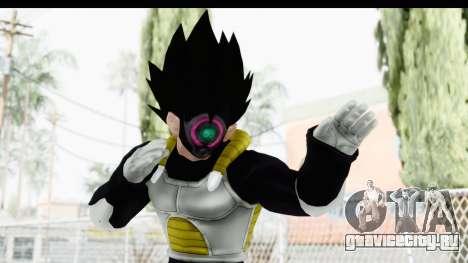 Dragon Ball Xenoverse Vegeta Timebreaker для GTA San Andreas