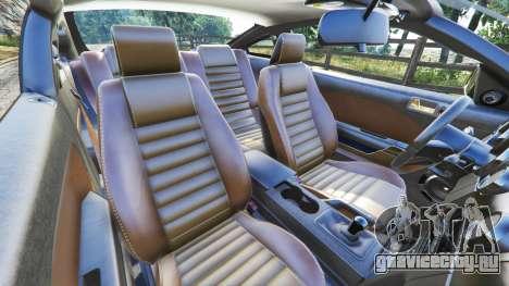 Ford Mustang GT 2005 для GTA 5 вид спереди справа