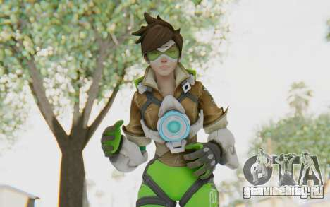 Overwatch - Tracer v3 для GTA San Andreas