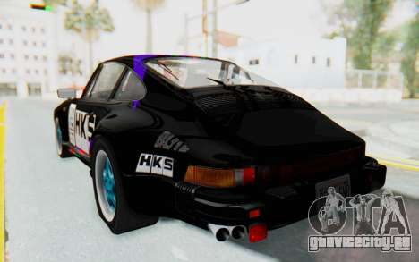 Porsche 911 Turbo 3.2 Coupe (930) 1985 для GTA San Andreas вид снизу