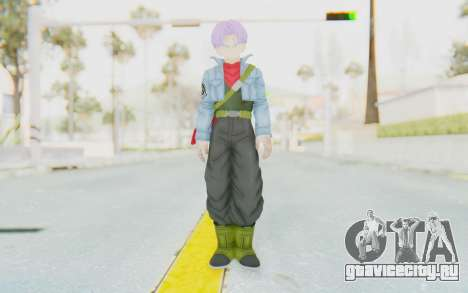 Trunks Del Futuro v1 для GTA San Andreas второй скриншот