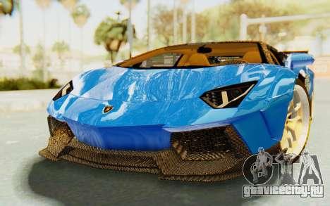 Lamborghini Aventador LP700-4 LB Walk Fenders для GTA San Andreas