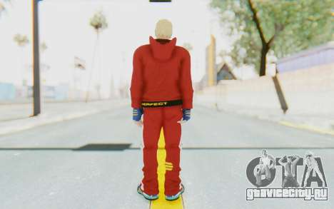 Slim Bob Skin для GTA San Andreas третий скриншот