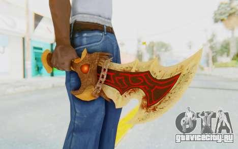 Blade of Athena для GTA San Andreas третий скриншот