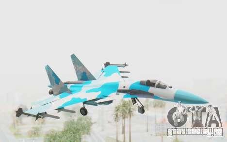 SU-37 American Ornament для GTA San Andreas вид сзади слева