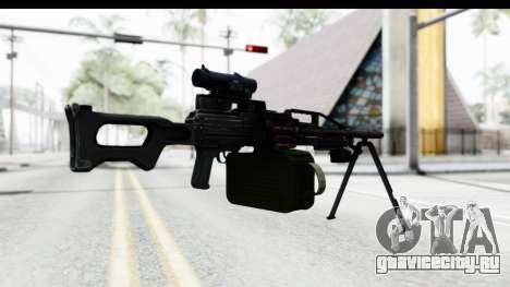 Kalashnikov PK (PKM) для GTA San Andreas третий скриншот
