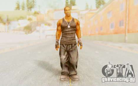 Def Jam Fight For New York - Busta Rhymes для GTA San Andreas второй скриншот