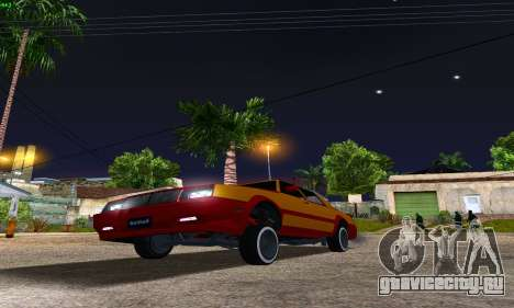 New Tahoma from GTA 5 для GTA San Andreas вид сзади