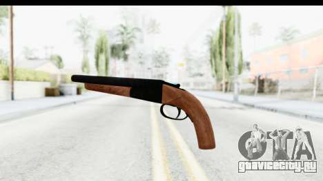GTA 5 Double Barrel Sawn-Off для GTA San Andreas второй скриншот