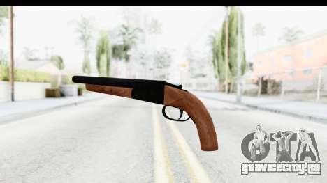 GTA 5 Double Barrel Sawn-Off для GTA San Andreas второй скриншот