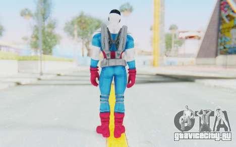 Marvel Heroes - Capitan America Sam Wilson для GTA San Andreas третий скриншот
