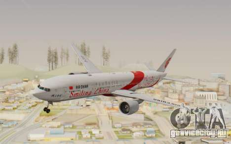 Boeing 777-300ER China Air для GTA San Andreas