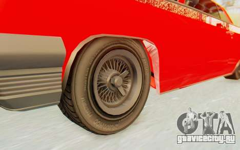 GTA 5 Declasse Voodoo Alternative v2 для GTA San Andreas вид сзади