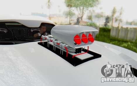 Dodge Viper SRT GTS 2012 Monster Truck для GTA San Andreas вид сзади