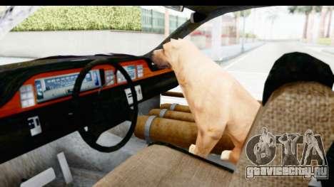 Chevrolet Caprice 2012 End Of The World для GTA San Andreas вид сзади