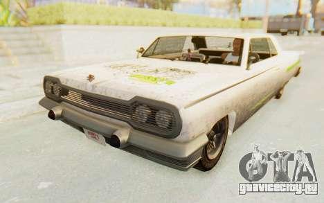 GTA 5 Declasse Voodoo Alternative v2 PJ для GTA San Andreas вид сверху