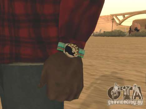 Часы Cat для GTA San Andreas
